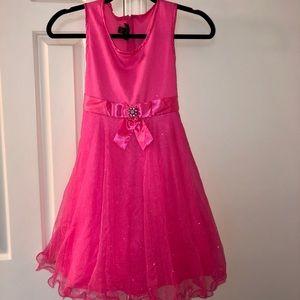 Beautiful hot pink party dress